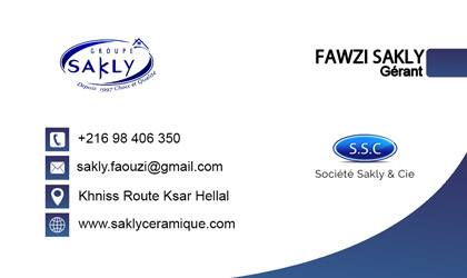 carte visite groupe Sakli