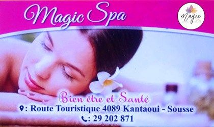 magic spa massage à Sousse